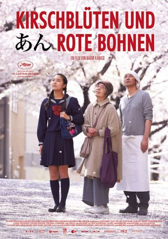 Kirschblüten und rote Bohnen - 2015 poster