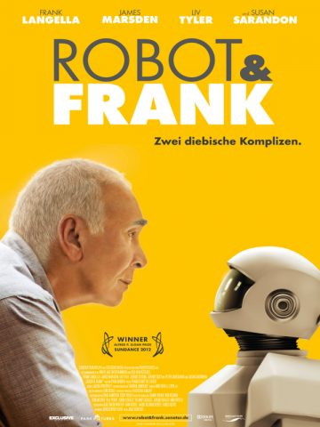 Robot & Frank - 2012 poster