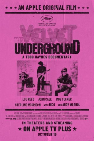 The Velvet Underground - 2021 poster