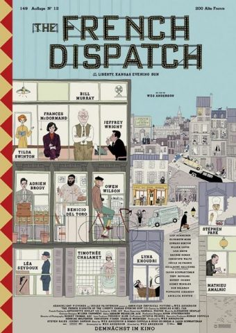The French Dispatch - 2021 poster