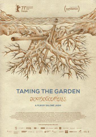 Taming the garden - 2021 poster