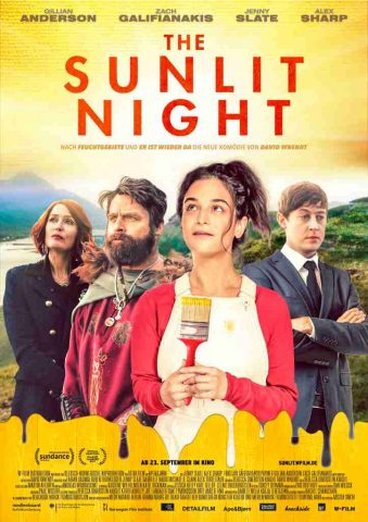 The Sunlit Night - 2021 poster