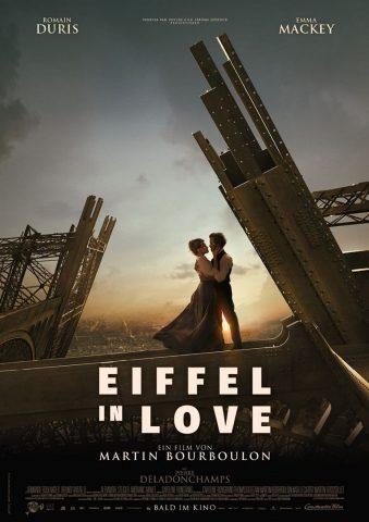 Eiffel in Love - 2021 poster