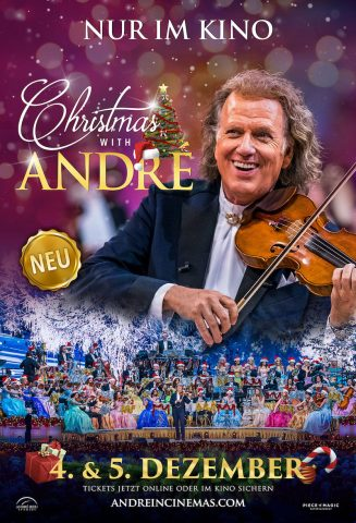 Christmas with André - 2021 poster